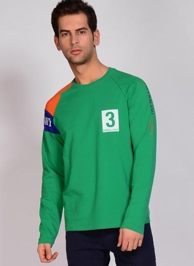 North Of Navy Sweatshirt Yeşil